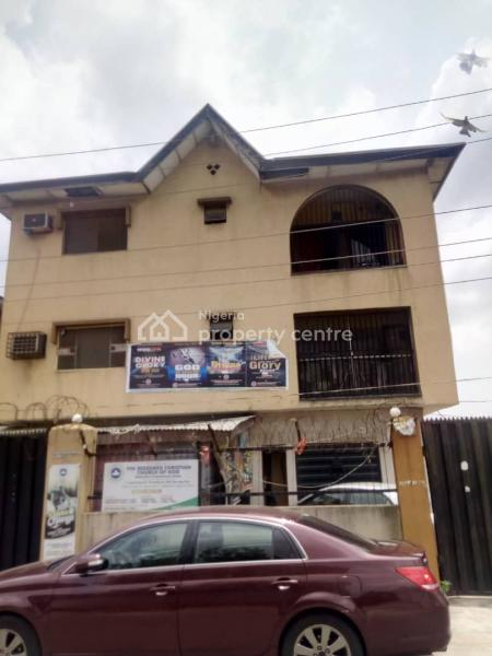 Block of 5 Nos of 3 Bedroom Apartments and 2 Units of Mini Warehouses on The Ground Floor, Corner Piece Property, Opebi, Ikeja, Lagos, Block of Flats for Sale