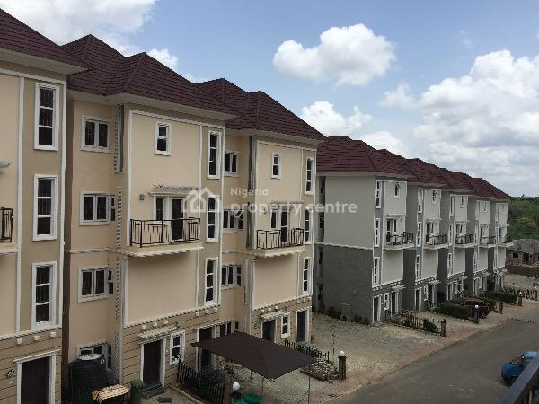 Fully Furnished 4 Bedroom Maisonette, Brains & Hammers, Galadimawa, Abuja, Terraced Duplex for Sale