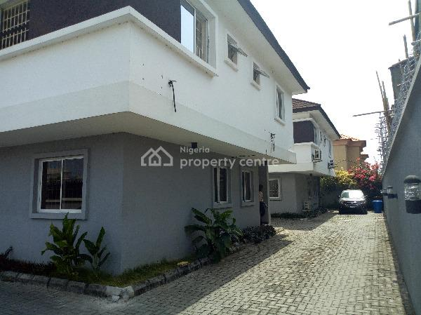 3 Bedroom Duplex with 1 Room Bq, (only 3 People in The Compound) in a Quiet Serene Environment, Lekki Phase 1, Lekki, Lagos, Detached Duplex for Rent
