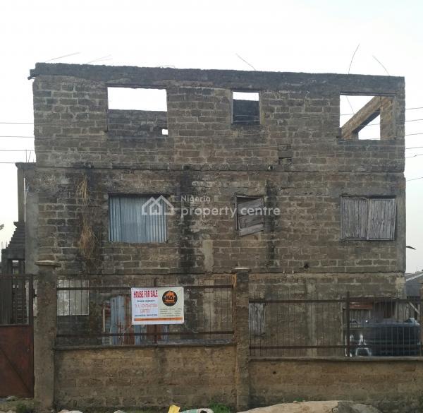 Uncompleted Block of 6 Flats, Kadara Street, Tokunbo Junction Area, Fodacis, Challenge, Ibadan, Oyo, Block of Flats for Sale
