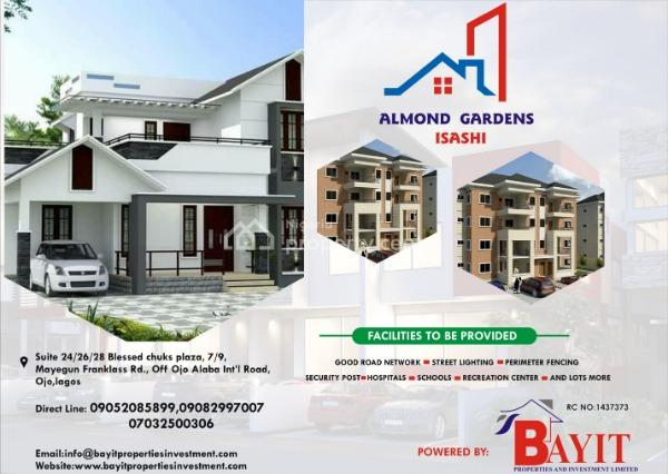 Plots of Land, Almond Gardens, Ishashi, Iba, Ojo, Lagos, Mixed-use Land for Sale