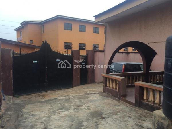 a Solid 4 Bedroom Bungalow, Sabo, Ojodu, Lagos, Detached Bungalow for Sale