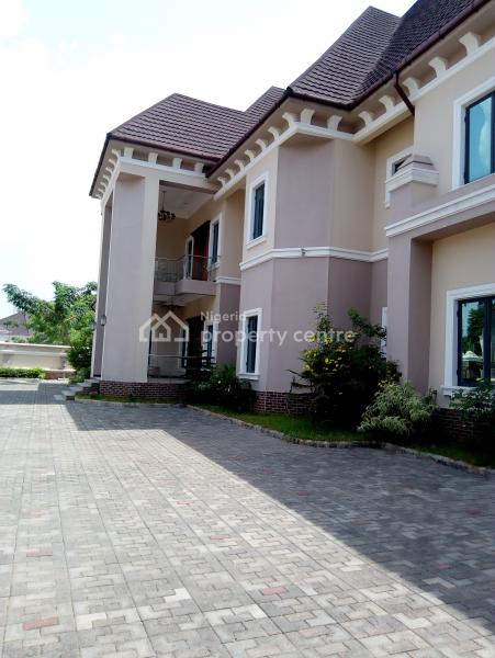 Luxury 6 Bedroom Detached Duplex with 1 Bedroom Guest Chalets, 1 Room Bq, 3 Living Rooms and Swimming Pool, Off Ibb Buleavard, Maitama District, Abuja, Detached Duplex for Sale