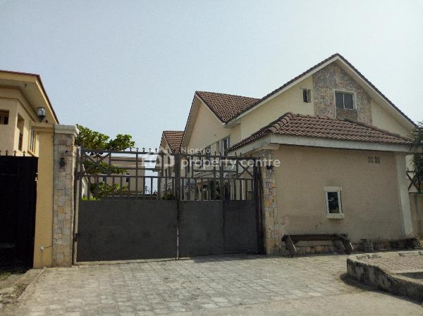 Serviced 4 Bedroom Terrace House with a Room Bq, Swimming Pool, Off Freedom Way, Lekki Phase 1, Lekki, Lagos, Terraced Duplex for Rent