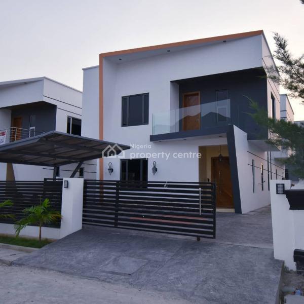 2 Nos of 5 Bedroom Detached House with a Room Boys Quarters, Lekki County, Ikota Villa Estate, Lekki, Lagos, Detached Duplex for Sale