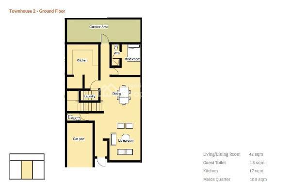 Exclusive 4 Bedroom Off Plan Development, Lekki Phase 1, Lekki, Lagos, Terraced Duplex for Sale
