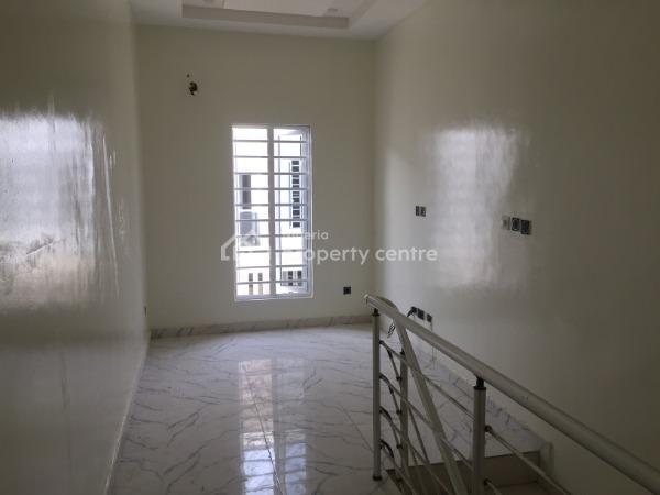Luxurious Brand New 4 Bedroom Semi Detached Duplex, After Chevron Toll, Lafiaji, Lekki, Lagos, Semi-detached Duplex for Sale