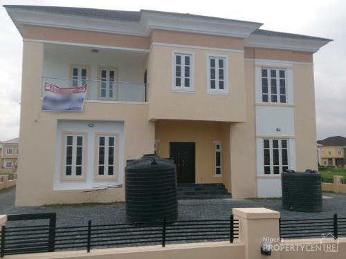 Exquisitely Built 5 Bedroom Detached Duplex At Northern Foreshore,chevron Drive, Lekki, Lekki, Lagos, 5 Bedroom House For Sale