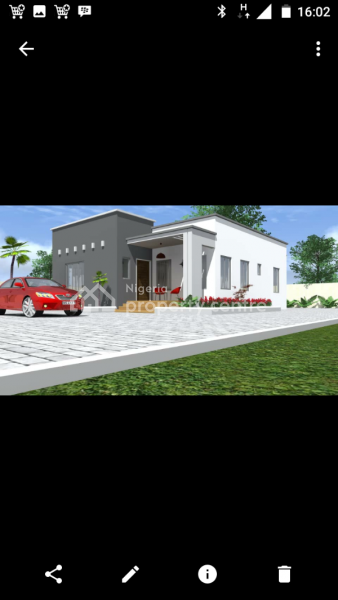Luxury 2 Bedroom Bungalow, Close to Police Estate, Orozo, Abuja, Detached Bungalow for Sale