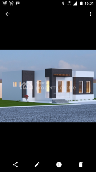 Luxury 3 Bedroom Bungalow Currently Being Developed, Close to Police Estate, Orozo, Abuja, Detached Bungalow for Sale