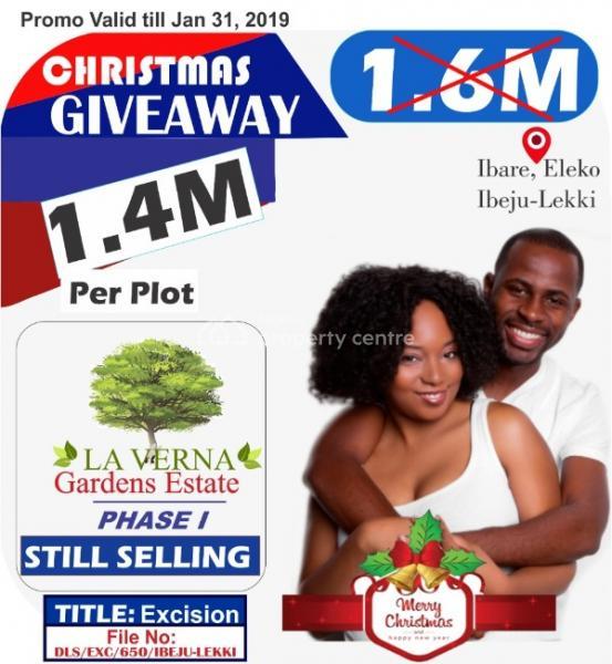 Promo Slash, Secured and Verified  Estate. 100% Dry Land, New Lagos, Eleko, Ibeju Lekki, Lagos, Residential Land for Sale