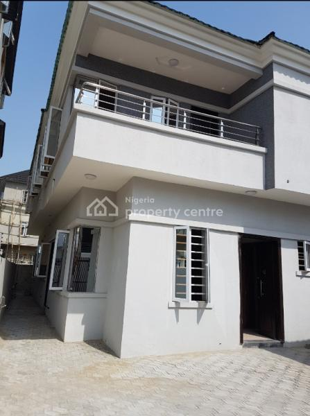 Luxury Unique 4 Bedroom Semi Detached Duplex with Bq, Canal View Estate, Osapa, Lekki, Lagos, Semi-detached Duplex for Sale