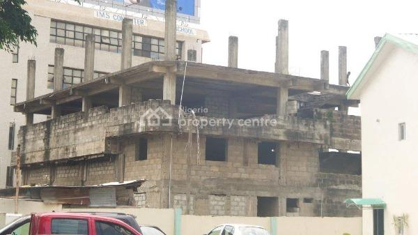 Uncompleted Office Building, Oba Akran Road, Oba Akran, Ikeja, Lagos, Office Space for Sale