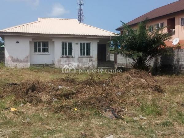 Well Built 3 Bedroom Fully  Detached Bungalow on a Full Plot of Land, Behind Uba Supermarket, Awoyaya, Ibeju Lekki, Lagos, Detached Bungalow for Sale