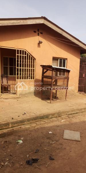 3 Bedroom Bungalow on More Than Half Plot of Land Anthony Oti Str Aboru Iyana Ipaja Lagos, Anthony Oti Street, Aboru, Alimosho, Lagos, Detached Bungalow for Sale