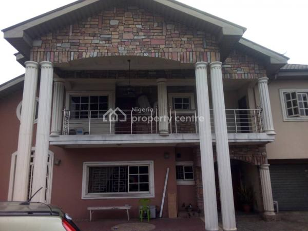 Super Luxurious 6 Bedroom Duplex Inside Approximately 2 Plots of Land, # 1, Jonah Street, Off Onukem, Rumuodara, Port Harcourt, Rivers, Detached Duplex for Sale