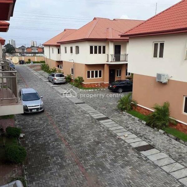4 Bedroom Terraced Duplex, Peace Estate, Bode Thomas, Surulere, Lagos, Terraced Duplex for Sale