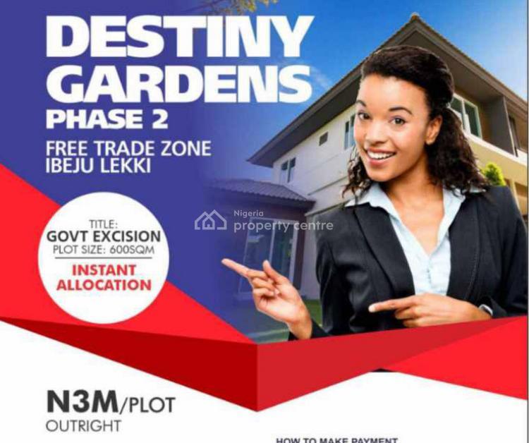 Land, Lapia Community, Destiny Gardens Phase 2, Ibeju Lekki, Lagos, Mixed-use Land for Sale