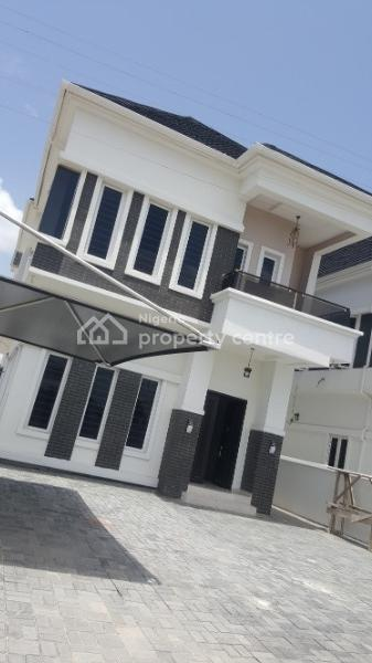 Beautiful 5 Bedroom Fully Detached House with a Room Bq, Ikota Villa Estate, Lekki, Lagos, Detached Duplex for Sale