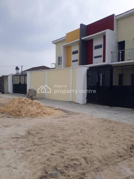 Shell Semi- Detached Duplex at Chevron Roundabout with Complete Title Document to Be Complete After First Installment, Alpha Beach Road By Chevron Road About, Lekki Phase 1, Lekki, Lagos, Semi-detached Duplex for Sale
