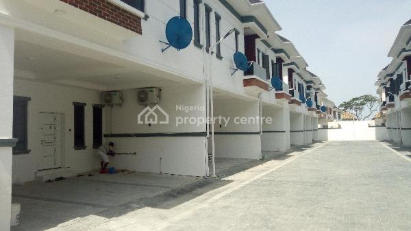 Luxury New Property, Lafiaji, Lekki, Lagos, Terraced Duplex for Rent