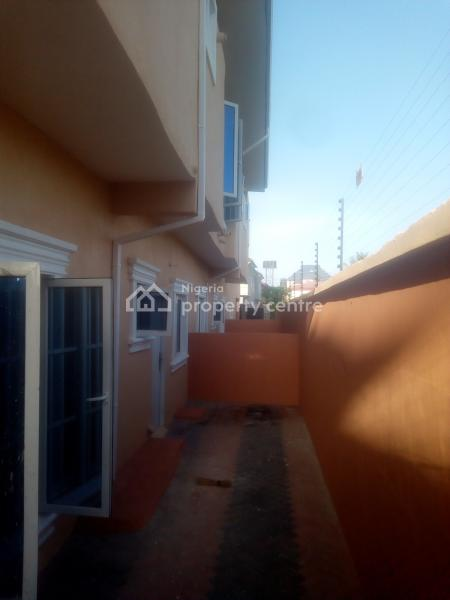 2 Units of 4 Terrace Duplex with Bq in a Compound, Located in a Well Developed, Organized and Secured Estate, Sangotedo, Ajah, Lagos, Terraced Duplex for Rent