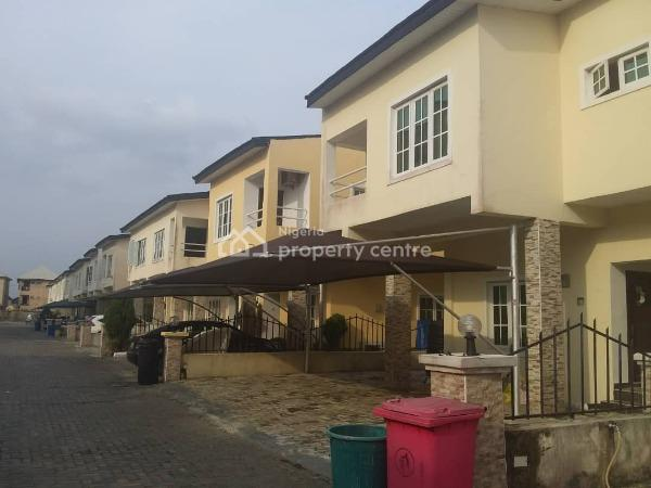 4 Bedroom Terrace Duplex with a Bq (off Plan, By Nike Art Gallery After Wakanow, Lekki, Lagos, Terraced Duplex for Sale