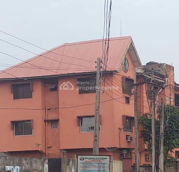 3nos of 3 Bedroom Flat on a Corner Piece, Iponri, Surulere, Lagos, Block of Flats for Sale