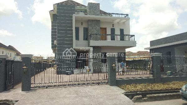 Luxury New Property with Pool, Gym, Automated Gate, Pinnock Beach Estate, Osapa, Lekki, Lagos, Detached Duplex for Sale