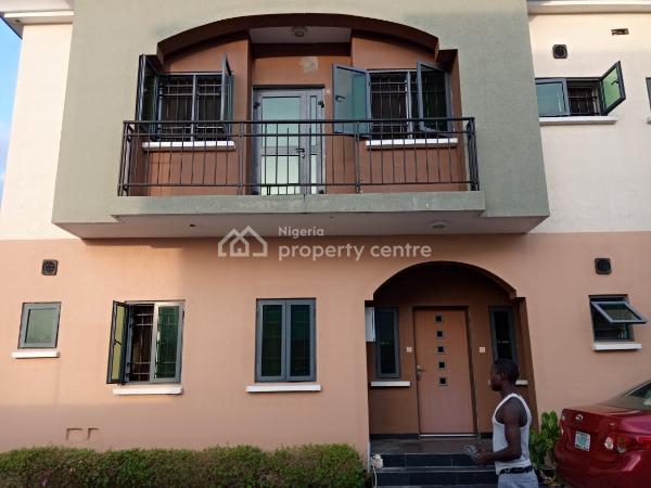 4 Bedroom Terrace with a Room Bq, Vgc, Lekki, Lagos, Terraced Duplex for Rent