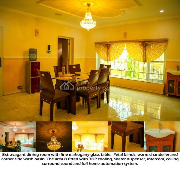 Fully Furnished 5 Bedroom Flat, Smart Home, Off Umar Dikko Street, Jabi, Abuja, Mini Flat for Rent
