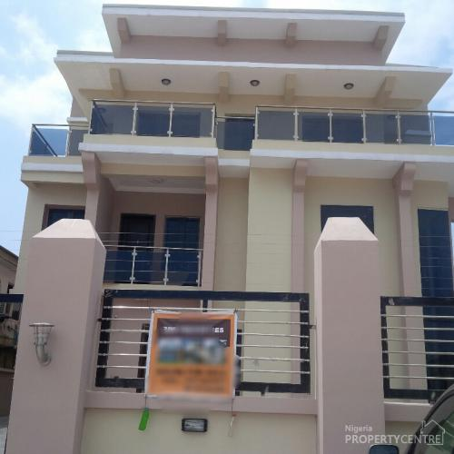 5 Bedroom Detached Duplex On 3 Floors , Lekki, Lagos, 5 Bedroom House For Sale