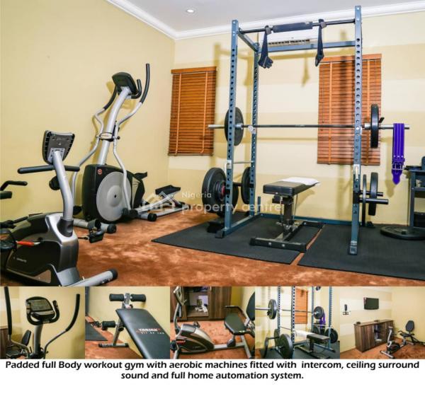 Lavishly Furnished & Serviced 4 Bedrooms Penthouse, Off Obafemi Awolowo Way, Jabi, Abuja, Flat for Rent