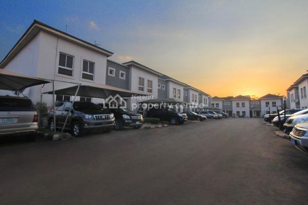 4 Bedroom Terraced Duplex ( 14 Units), Very Close to American International School, Durumi, Abuja, Terraced Duplex for Rent