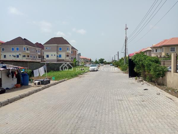Half Plot(300sqm) of Land, Having Uncompleted Structure., Admiralty Homes Estate, Off Alpha Beach Road, Before Chevron, Igbo Efon, Lekki, Lagos, Residential Land for Sale