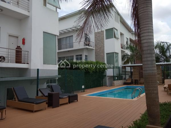 Lovely and Well Maintained 3 Bedroom Service Apartment with a Room Bq, Banana Island, Ikoyi, Lagos, Flat for Rent