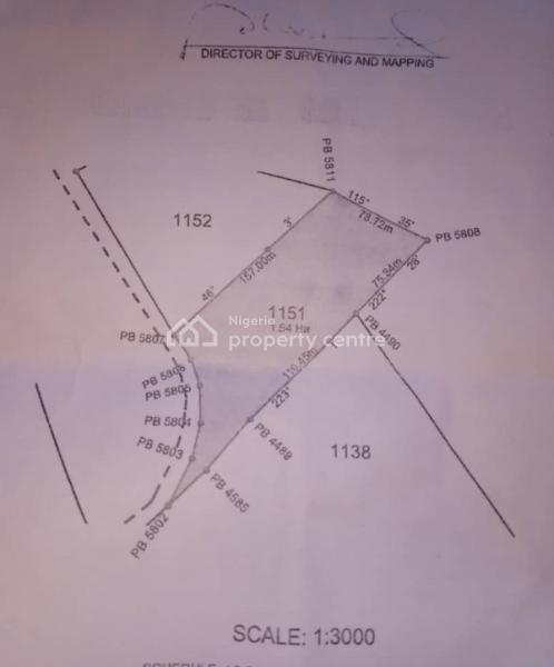 1.54 Ha Land, Gwarinpa, Abuja, Residential Land for Sale