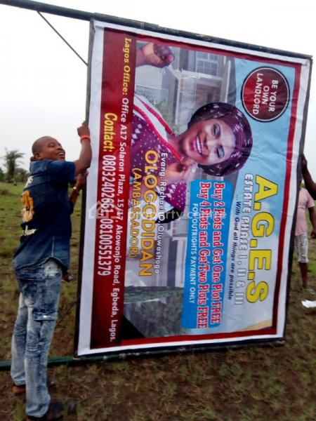 a.g.e.s Estate Phase 2, Before Lacampaign Tropicana, Ibeju Lekki, Lagos, Residential Land for Sale