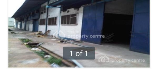 Waterfront  Warehouses and Offices on 13,850sqm, Creek Road, Apapa, Lagos, Warehouse for Sale