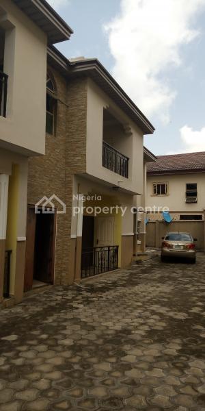 Lovely Built All Rooms En Suite 3 Bedroom Flat, Oloja Street, Sangotedo, Ajah, Lagos, Flat for Rent