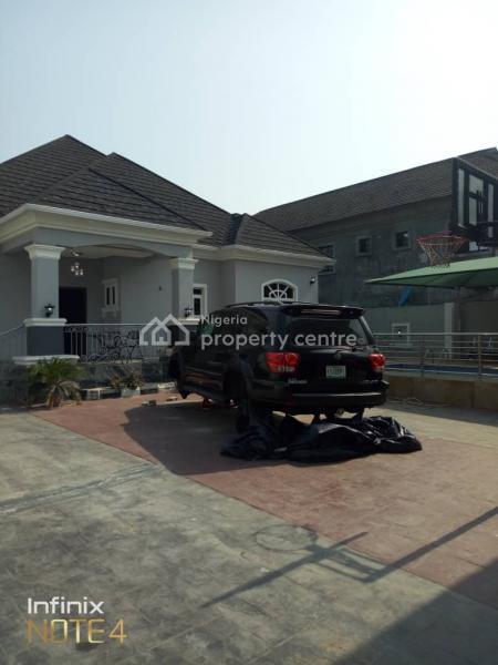 Luxury Fully Furnished 5 Bedroom Bungalow Plus Bq, Fitted Kitchen, Swimming Pool, Standby Generator, Storey Gate House, Awoyaya, Ibeju Lekki, Lagos, Flat for Sale