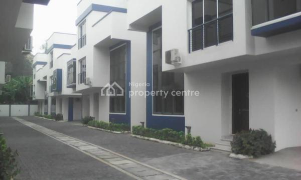 24 Hours Light Service 4 Bedroom Detached House, Off Bourdilon, Old Ikoyi, Ikoyi, Lagos, Detached Duplex for Sale