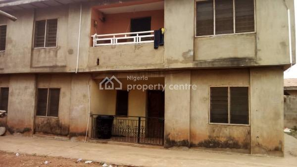 3 Bedroom 4 Flats & 5 Flats Building in Same Compound, Foye Area, Alakia, Ibadan, Oyo, House for Sale
