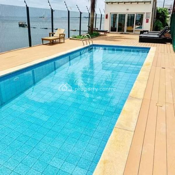 Water Front 3 Bedroom Apartment + Bq with Pool and Gym, Banana Island, Ikoyi, Lagos, Flat for Rent