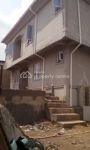 a Well Built Architecturally Designed Brand New One Block of 4 Flats of 2 Bedrooms with a Room Bq, Well Tastefully Finished, Tiles, Adeola Avenue, Adeola Estate, Karaole Estate, Off College Road, Ogba, Ikeja, Lagos, Block of Flats for Sale
