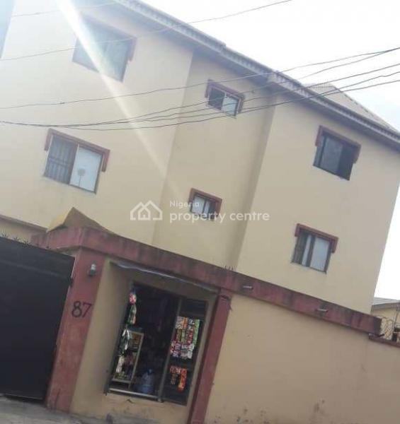 Clean and Decent Block of 6 Nos of 3 Bedroom Flat, Aguda, Surulere, Lagos, Block of Flats for Sale