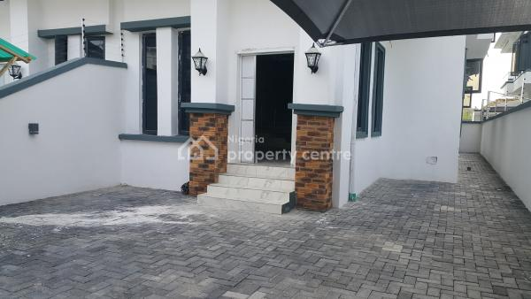 Brand New 4 Bedroom Semi-detached House with 24 Hours Power, Conservation Center, Lafiaji, Lekki, Lagos, Semi-detached Duplex for Rent