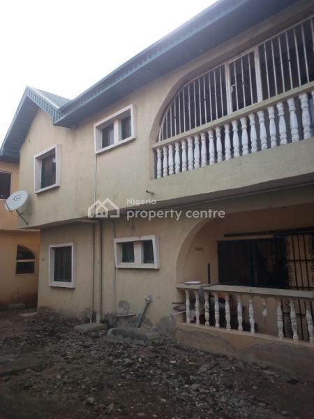 Upstairs 3 Bedroom Flat, Matogun, Okearo Near, Iju Ishaga, Agbado, Ifo, Ogun, Flat for Rent
