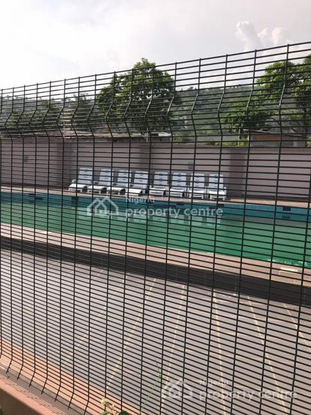 Nicely Finished 4 Bedroom Fully Serviced Terrace Duplex with a Bq, Pool, Gardens, 24hrs Services, Katampe Extension, Katampe Extension, Katampe, Abuja, House for Rent