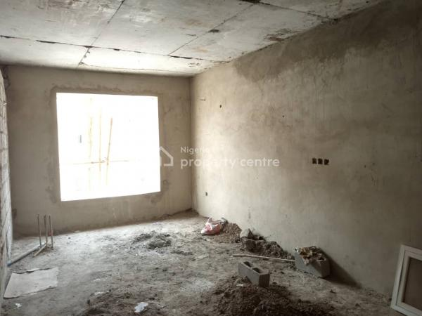 a Well Built Shell House. Buy and Finish Interior, Guzape District, Abuja, Terraced Duplex for Sale